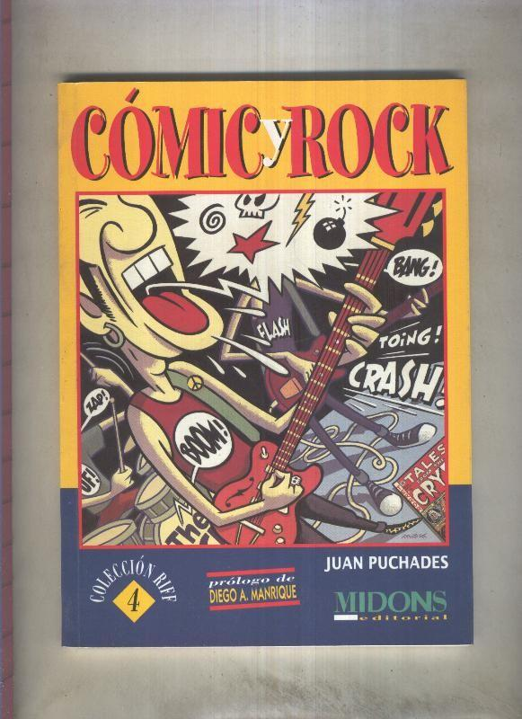 Coleccion Riff: Comic y Rock (con precinto original de editorial) - Juan Puchades