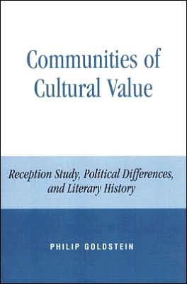 Communities of Cultural Value