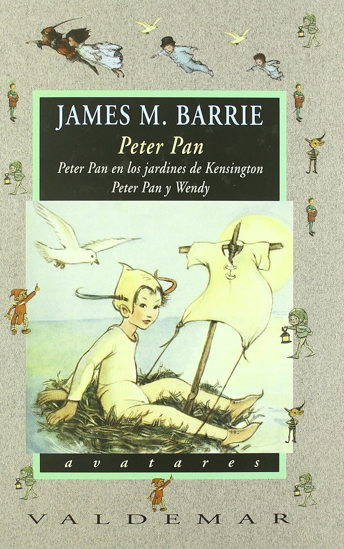 Peter Pan Peter pan en los jardines de kensington & peter pan y wendy - Barrie, James M.
