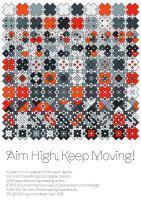 Aim High, Keep Moving!
